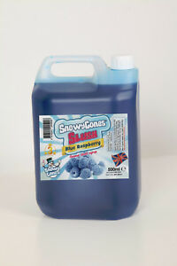Slush Syrup High grade 7 TO 1 MIX  Blue Raspberry 1 X 5ltrs