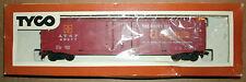 1/87 HO Scale Model Railroad 50ft Freight Box Car Santa Fe Train Line Tyco 339A