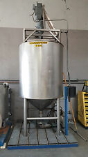 New listing stainless steel homogenizer 500 gal jacketed