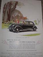 The new Ford V8 art advert 1936 ref AZ