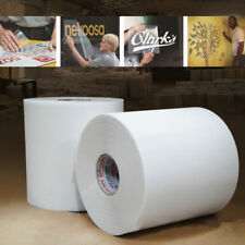 "High Tack Clear Application Transfer Tape for Sign Craft Vinyl Roll 12.6"" Wide"