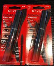 2 New Revlon So Fierce! Extend Lift Volumize Mascara #702 Black