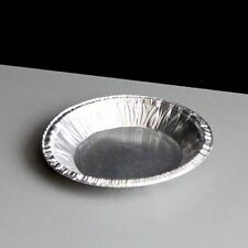 "60 x Foil Dishes Small Cake Tarts Pie 3"" Diameter Round 10mm Deep / 28cc CH-1C"