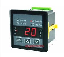 NEW Led Generator Oil Press Water Temp Voltage Working Time Digital Panel Meter