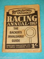 RACING & FOOTBALL OUTLOOK'S RACING ANNUAL 1967 #2
