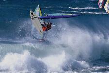 568073 High Off The Lip Hookipa Maui Dave Kalama A4 Photo Print