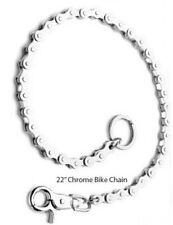 "Chrome Basic Biker Key Chain Pants/Jean Wallet Chain (22"") Chain Link"