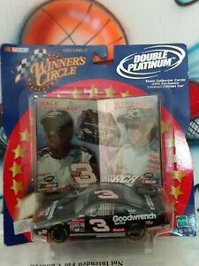 1:43 NASCAR Winner's Circle Double  Platinum Dale Earhardt & Richard Childress