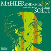 Solti Mahler Symphonies 5, 6 and 7 JAPAN 3 SACD Hybrid TOWER RECORDS NEW