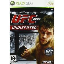 Pal version Microsoft Xbox 360 UFC 2009 Undisputed