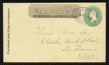 """Wells Fargo & Co's Express"" /  Tuscadora, Nevada (Leutzinger #10-9), XF, fresh"