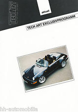 Bild-Prospekt Porsche 911 Speedster TechArt Exclusivprogramm 1994 Pkw int Nr 15