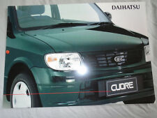 Daihatsu Cuore brochure Jun 2001 Australian market