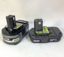 Ryobi ONE+ 18V Genuine P191 3.0Ah and P190 2.0Ah Lithium-Ion Batteries - NEW