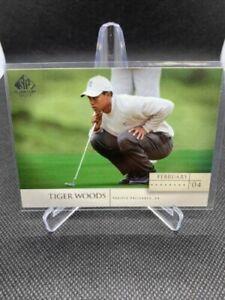 2004 SP Signature #29 Tiger Woods