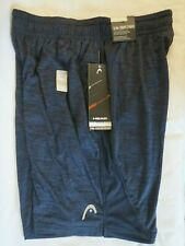 New With Tags Men's Head Stability Athletic Short Slim Cut Medium Navy Heather