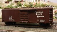 Roundhouse MDC HO Canadian Pacific 40' steel Boxcar,  Upgraded, Ex