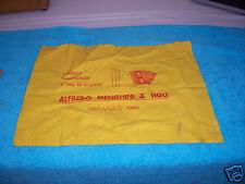 Menghini accordion guitar  polishing cloth  case candy V. G.cond. Rare Morbidoni
