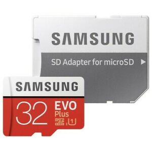 Samsung EVO Plus Micro SD Card 32GB Class 10 SDHC Memory Card Opened Only