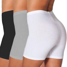 Pantalón Corto Para Mujer Motociclista De Cintura Alta Yoga Gimnasio medio muslo Leggings Pantalones Entrenamiento