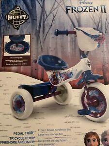 NEW IN BOX Huffy Frozen 2 Pedal Trike Bike - Anna Elsa & Olaf Frozen Blue