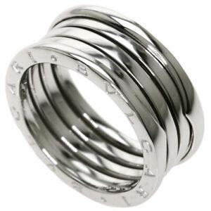 BVLGARI   Ring B-zero1 M #64 K18 White Gold