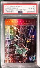 2013 PANINI HOOPS COURTSIDE ARTIST PROOF LEBRON JAMES CARD #2 PSA 10  #'D 52/99