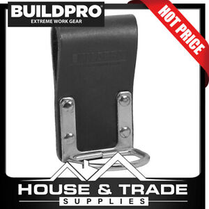 BuildPro Claw Hammer Holder Leather Heavy Duty Stitching Frog LBFPHF