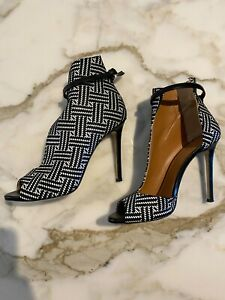 Marc Ellis woven leather booties, WORN ONCE, PERFECT CONDITION, size 39