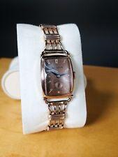 Vintage Bulova Rose Gold Filled Watch Origional Band 8AH