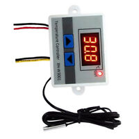 24V Digital XHW3001 Temperature Controller Switch Thermostat 10A W/ Probe