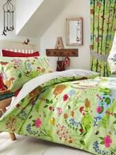 Bettwäsche Kinderzimmer Waldtiere Glockenblumen Tiere Wald 135x200/50x75 cm