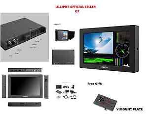 "LILLIPUT 7"" Q7 Full HD Metal Frame Slim SDI and HDMI cross conversion +V mount"