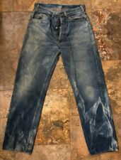 1930's Vintage Levi Denim Jeans (Buckle Back) Foremost J.C.P. Co. 32x32 Selvedge