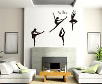 Ballet Home Decor Removable Wall Stickers Decal Decoration Vinyl Mural