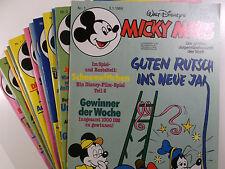 AUSWAHL = Micky Maus Comic Hefte 1984 Nr. 1 - 52 mit / ohne Beilagen