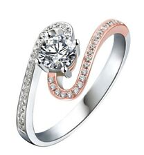 GIA certified Vintage Inspired Diamond Engagement Ring 2.00 CTW Round 18K
