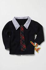 Anthropologie Country Club Sweater Size 2T, Cardigan w/Faux Tie By Field Flower