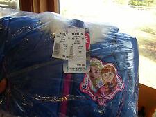 Disney's Frozen Girls Size 4 Anna & Elsa Faux-Fur Trim Midweight Puffer Jacket