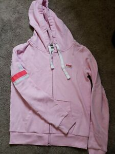 Victoria's Secret Pink Zip Up Hoodie Size Small