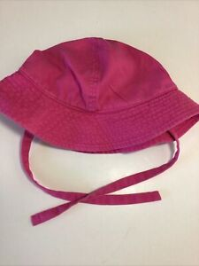 Hanna Andersson Sun Hat Toddler Small With Ties Gently Worn