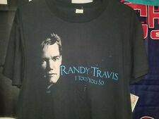 1988 Randy Travis I Told You So Vintage Band Tee Shirt Screen Stars Large