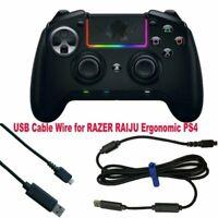 USB Cable Wire Line for RAZER RAIJU Ergonomic PS4 Xbox One Gamepad Controller AU
