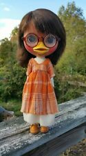 OOAK Ducky Duck custom BLYTHE doll by José Plushimi