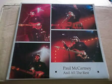 Paul McCartney - All the Rest (1975-89) rare live double LP Not Tmoq NM
