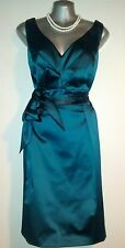Bnwt Bravissimo Dress Size 14 SC Satin Pencil Evening Party Wedding Occasion