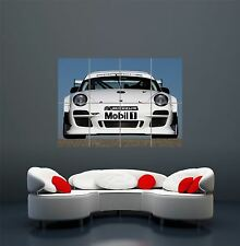 PORSCHE GT RACE CAR POSTER ART  PRINT GIANT LARGE  WA080