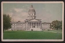 The Capitol, Topeka, Kansas, Detroit Publishing Co. Photostint 10971
