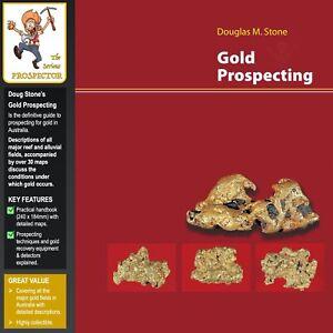Doug Stone | Gold Prospecting Book | Over 30 Maps | Major Australian Gold Fields