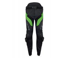 Kawasaki KRT Herren Lederhose schwarz/grün NEU
